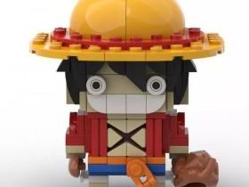 来自国外的海贼王X乐高作品,超级有创意啊!有趣
