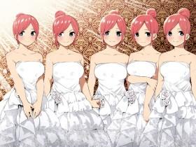 五等分的花嫁第二季定档2021年!二乃,我们下年再见!